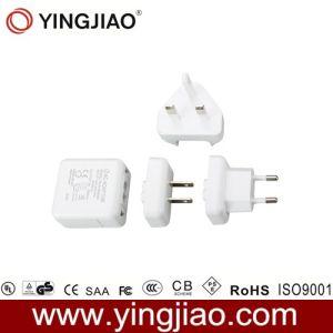 6W DC Adaptador de alimentación lineal con enchufe de CA