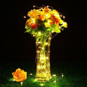 Künstlerisches am meisten benutztes dekoratives warmes Atemosphere Solarzeichenkette-Licht