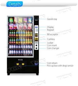 Npt Snack máquina de venda automática de bebidas bebidas