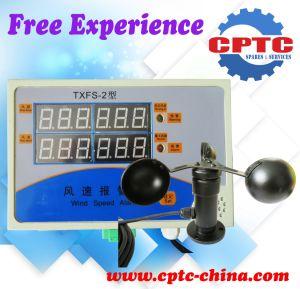 I cinesi dirigono il tester di velocità meccanico di senso di vento dell'anemometro della gru a torre di Digitahi di prezzi di fabbrica