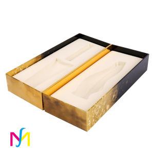 Contenitore di regalo cosmetico piegante stampato colore su ordinazione del documento del profumo del mestiere del commestibile, scatola di presentazione impaccante, contenitore di imballaggio di immagazzinamento in la bottiglia di vino della sigaretta