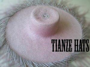 Dos tonos 5 Bu papel Sombrero de Paja cuerpo