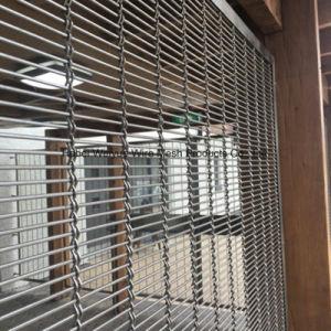 Tessuto decorativo della maglia del metallo del tessuto della parete architettonica del metallo