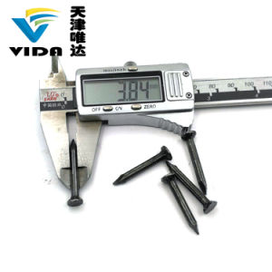 11/4  X 3.80mm de Heldere Opgepoetste Gecanneleerde Spijkers van de Steel