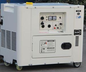 Air-Cooled新しいモデル5kwの無声携帯用ディーゼル発電機