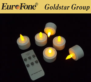 Goldstar Best Quality Mini LED Tea Light con Remote Control