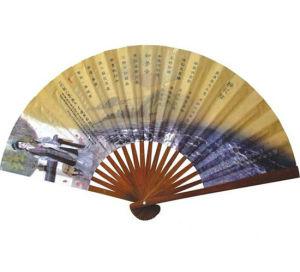 Горячая продажа модной бумаги вентилятор, Складная стороны электровентилятора системы охлаждения двигателя