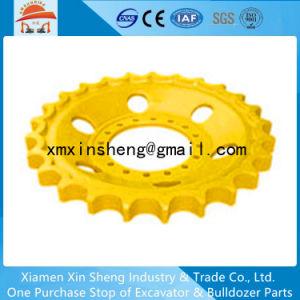 Voie machinerie de construction des segments de barbotin pour excavatrice à chenilles de pièces de châssis porteur BULLDOZER KOMATSU PC450-7