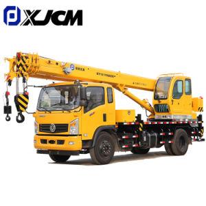 Máquina de Construção Qy10 10ton Sall máquina móvel de Esteiras Hidráulico grua montada
