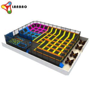 Eco-Friendly Tamanho personalizado crianças Parque Fitness saltos inflável trampolim