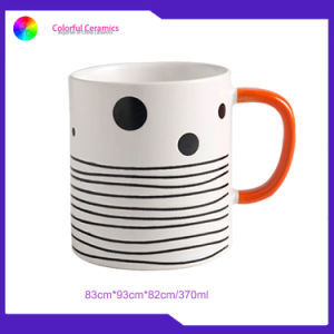 Des lignes simples tasses mug personnalisé en céramique des tasses à café tasse défini