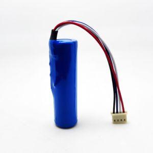 18650 de 3.7V 2900mAh/3000mAh/3200mAh/3400mAh Batería de iones de litio recargable con BMS y el conector