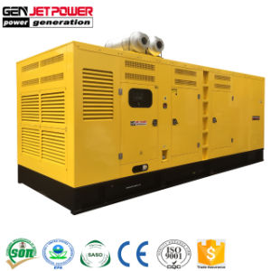 Kta50-G3 1250kVA 1375kVAの容器のディーゼル発電機セットによって動力を与えられる