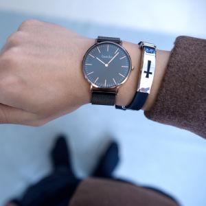 Slim Men's Watch Reloj Casual Logotipo personalizado relojes de buceo el movimiento de Japón Ver reloj de cuarzo