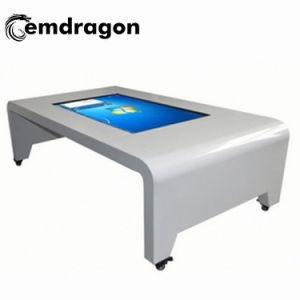 Taille personnalisée Android Table à café de la signalisation numérique LCD interactif tactile La Table de salle de café Affichage LED 49 pouces écran