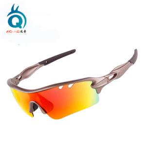 UV400 형식은 5 한가한 렌즈를 가진 순환 스포츠 색안경을 극화했다