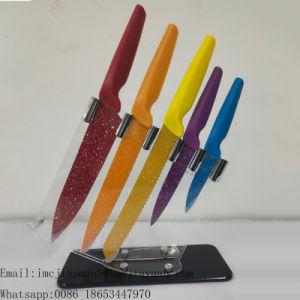 Melhor Recurso Facas de cozinha de aço inoxidável conjuntos de faca com alça de PP