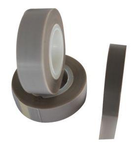 Fenda revestida de adesivo de silicone rolo de fita de filme de PTFE