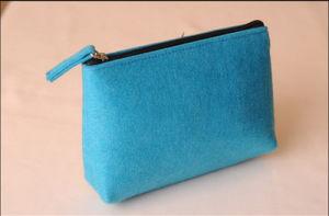 Feutre de haute qualité en Néoprène Housse Nylon Oxford cosmétique de maquillage sac postal