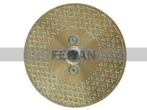Protecção de lâmina Electroplated segmentada para Marble