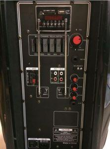 Feiyang/Temeisheng Rechageable altavoz de la batería F23 con la función de altavoz portátil