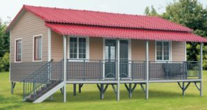 Venta caliente mueble Contenedor de prefabricados de estructura de la Casa de lujo