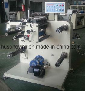 L'étiquette et de rembobinage de la machine de refendage, le papier coupeuse en long