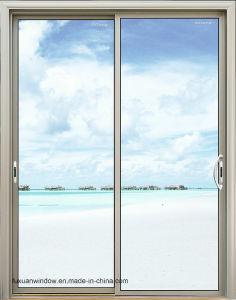 Puerta corrediza de aluminio con acero inoxidable 304 Mosquitera