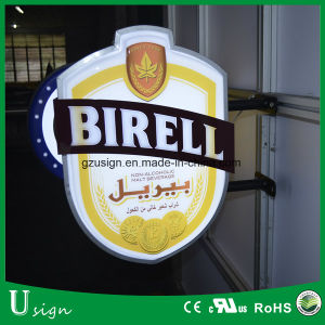 Sinal Irregular personalizado Publicidade Caixa de Luz