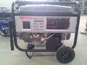 Бензиновый генератор EP6500)