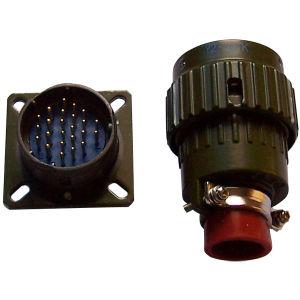 Y28M Series os conectores de encaixe tipo baioneta Circular