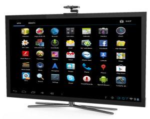 2013 Cortex A7 Android телевизор в салоне на веб-камера 5.0MP Android 4.2 телевизор в салоне, встроенный в Xbmc камеры с функцией воспроизведения Full HD 1080P веб-камера Skype