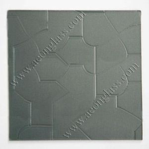 3mm, 4mm, 5mm, 5.5mm, 6mm Grey Figured/Patterned Glass Grey Figured Glass