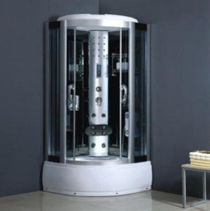 Badezimmer-komplette Glasdusche-Raum-Kabine 90