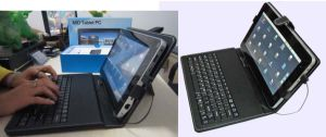10 Tablette PC InchFlytouch3 des Android-2.2 + USB Keyboard&Case