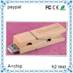 小型棒USBのフラッシュ駆動機構木製USBのペン駆動機構