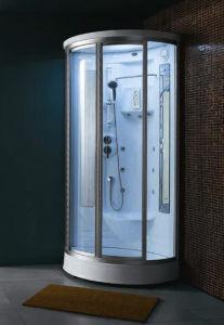 Sala de ducha de vapor computarizado con cristal templado(WN-76)