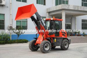Ce van het Merk van Everun keurde Gearticuleerde Compacte Lader 1.5ton goed