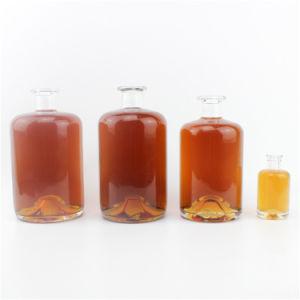 El Whisky el Vodka el frasco de cristal del vaso de cristal de 50ml 500ml 700 ml 750 ml