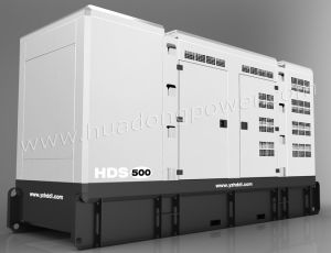 Schalldichter Generator-Satz 150KVA (HDCS150)