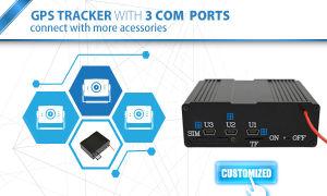 Пульт дистанционного управления автомобиля GPS Tracker с тремя портами USB