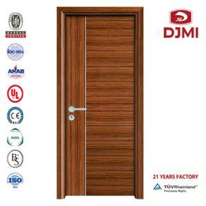 Interior de madera personalizado Hotel Puerta resistente al fuego Panel de madera maciza puertas