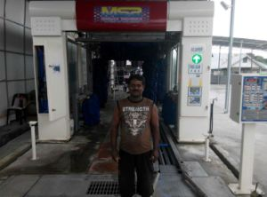 Great performance Automatic Tunnel Car Wash Machine