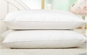 100% хлопок мягкие пуховые вниз заполнение утку гуся вниз подушки