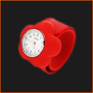 Silikon-Klaps-Uhren für Ionenuhren (WBD-568-W6-WX10)