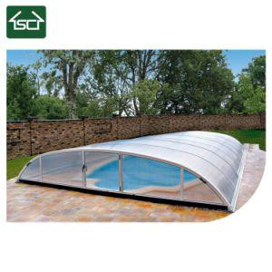 Nieuw Ontwerp Telescopische DIY die de Dekking van het Zwembad installeren