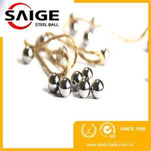 China Exportar G100 6mm Moer as esferas de aço com a SGS