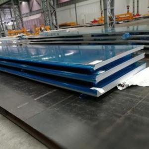 5083/5182/5454 Hoja de aluminio laminado Tranker Body Building, en la industria del transporte por carretera