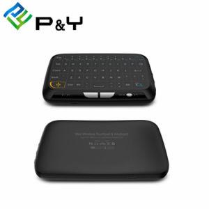 Toetsenbord 2.4GHz Wirelesswith 2.4GHz rf van de Muis van de Lucht van het toetsenbord H18 het Mini Androïde