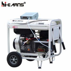 공냉식 열린 구조 유형 디젤 엔진 발전기 삼상 전기 시작 (DG8000E)